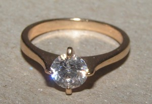 Conventional 1/2ct Solitaire Promise Engagement Ring Free Shipping