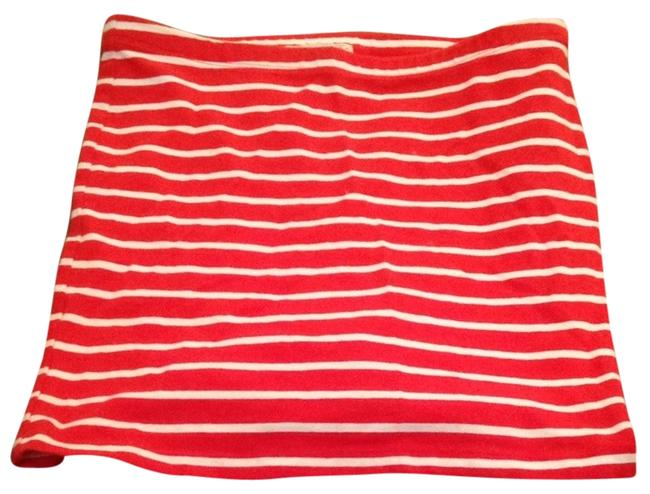 Forever 21 Skirt Red and white stripes