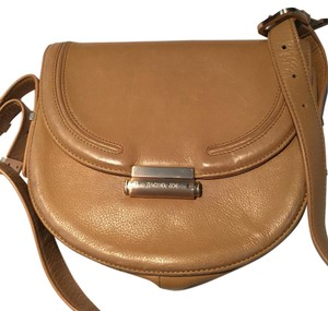 Rachel Zoe Cross-body Leather Neutral Shoulder Bag