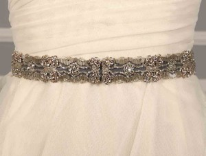 Ossai Black Embellished Bridal Sash