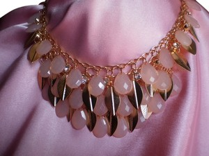 New Pink Chroma, Crystals Necklace