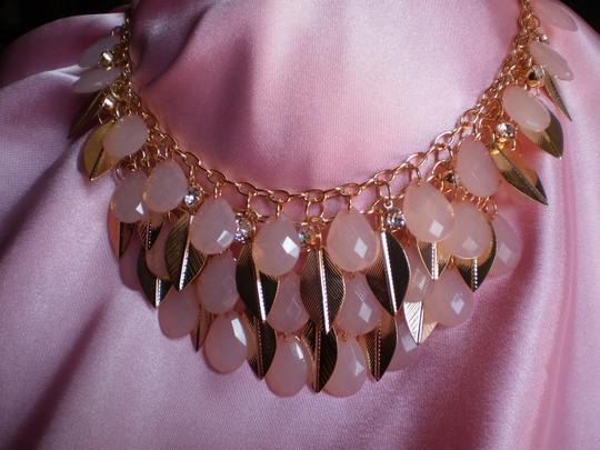 Other New Pink Chroma, Crystals Necklace