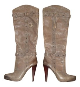 Gianni Bini Distressed brown Boots