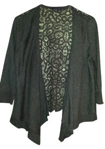 American Eagle Outfitters 3/4 Sleeve Lace Back Sweater Cardigan