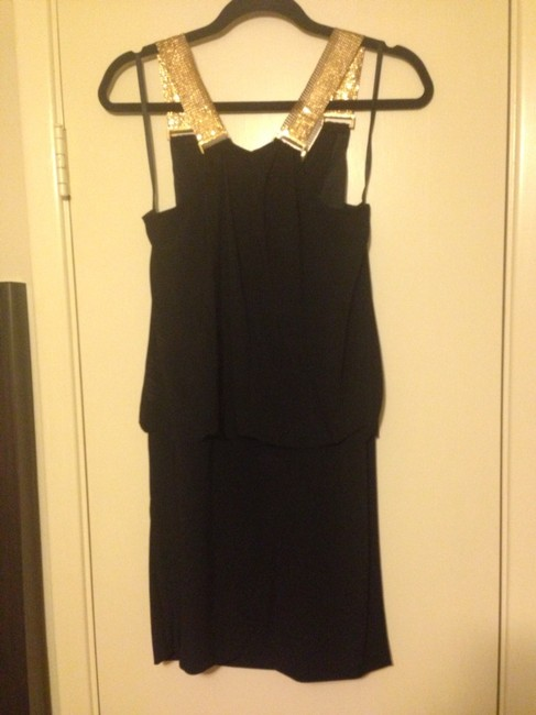 Betsy & Adam Lbd Mini Dress