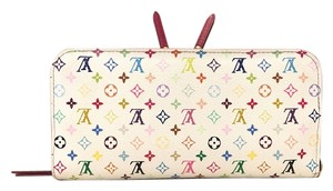 Louis Vuitton LOUIS VUITTON Multicolor Insolite Wallet White