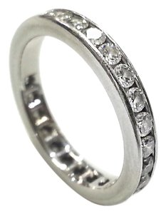 Tiffany & Co. Tiffany & Co Platinum & 1.00 Cttw Diamonds, Eternity Ring Band Size 5