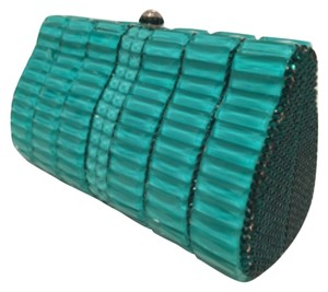 La Regale Green Clutch