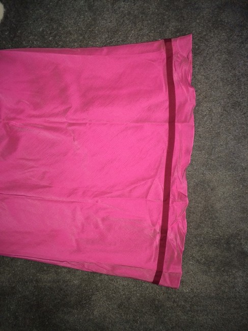 Banana Republic Skirt Pink with Red Band