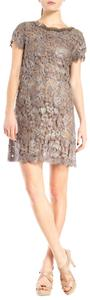 Collette Dinnigan Lace Sheer Beaded Dress