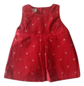 OshKosh B'Gosh short dress Red Holiday on Tradesy