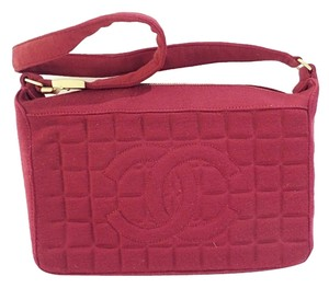 Chanel Cashmere Quilted Shoulder Bag