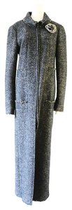 Chanel Tweed Tweed Long Coat