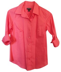 Kirkland's Button Down Shirt Pink