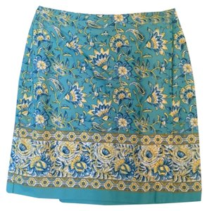 Charter Club Mini Skirt Blue