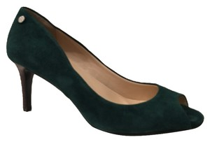 Calvin Klein Dark Green Pumps