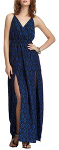 Black Blue Maxi Dress by Meghan LA