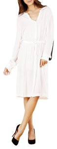 A.L.C. short dress White Alc Long Sleeve Silk Midi on Tradesy
