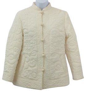 THE NICE CO. Vintage Co. Quilted BEIGE Jacket
