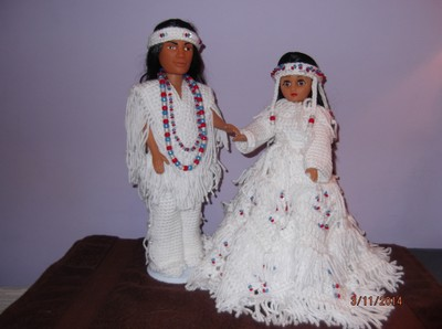 Best Wedding Gifts For Bride And Groom In India : Indian Bride And Groom Dolls Tradesy Weddings