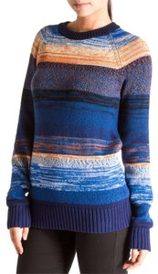 Proenza Schouler Crewneck Striped Sweater