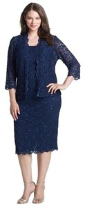 Alex Evenings New With Tags Plus Size Mother Of The Bride Formal Dress