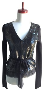 Ascension Cashmere Sequin Cardigan Sweater