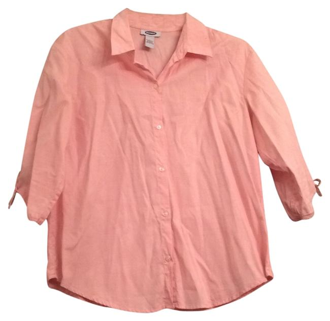 Preload https://img-static.tradesy.com/item/8326255/old-navy-peach-button-down-top-size-14-l-0-2-650-650.jpg