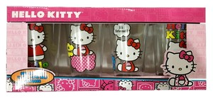 Hello Kitty Set of Four Hello Kitty Glasses