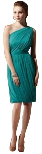 Item - Green 8117 Mid-length Night Out Dress Size 12 (L)