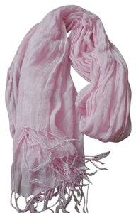 Other Pink Scarf with Fringe