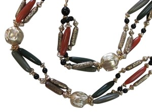 Other LONG NARROW BEADS NECKLACE