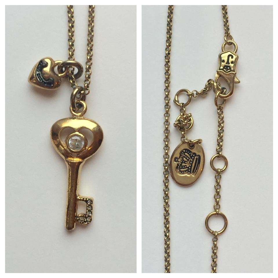 Juicy couture gold key to my heart necklace tradesy juicy couture juicy couture key to my heart necklace 12345 aloadofball Gallery