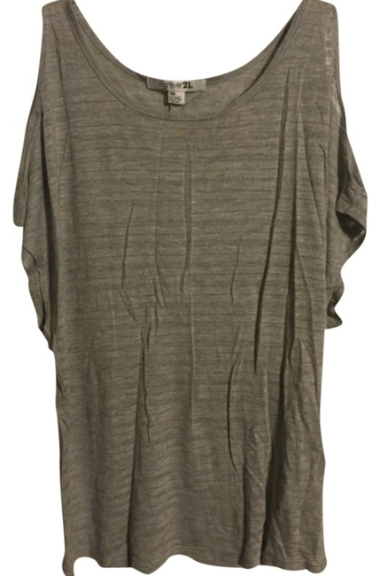 Preload https://img-static.tradesy.com/item/8327014/forever-21-gray-night-out-top-size-4-s-0-2-650-650.jpg