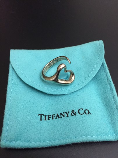 Tiffany & Co. Authentic Tiffany & Co Elsa Perett Open Heart ring Sterling Silver