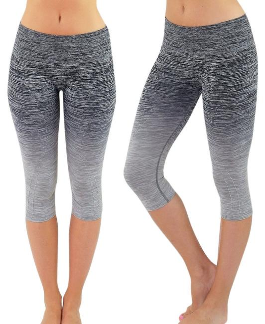 Preload https://img-static.tradesy.com/item/8327449/black-and-gray-high-waist-fitness-pants-printed-stretch-cropped-leggings-activewear-sportswear-size-0-4-650-650.jpg