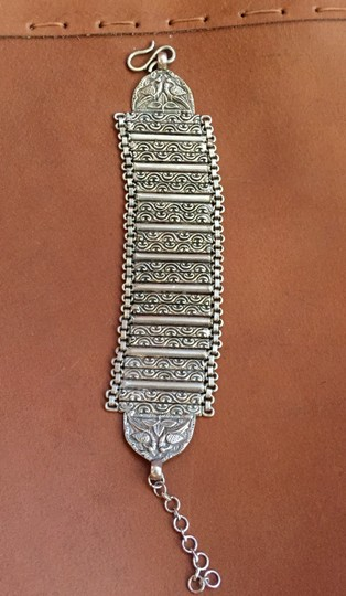 Other GORGEOUS!! Silver cuff thick statement bracelet!!