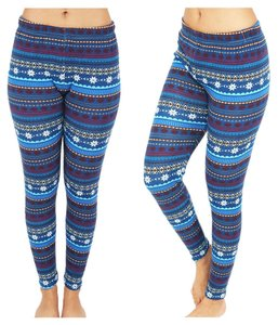 TD COllection Winter Warm Blue Leggings