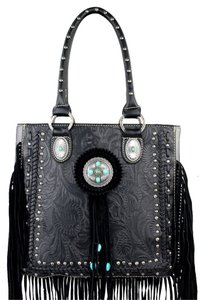 Montana West Satchel in Black