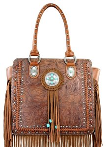 Montana West Satchel in Brown