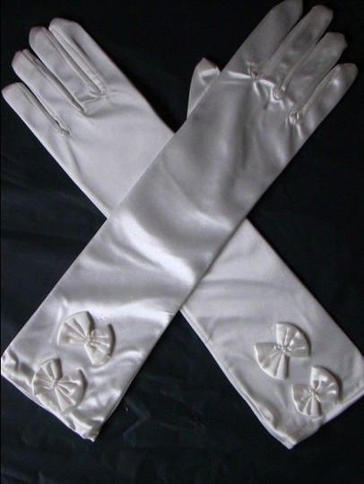 White Bogo Free Long Or Prom Free Shipping Gloves