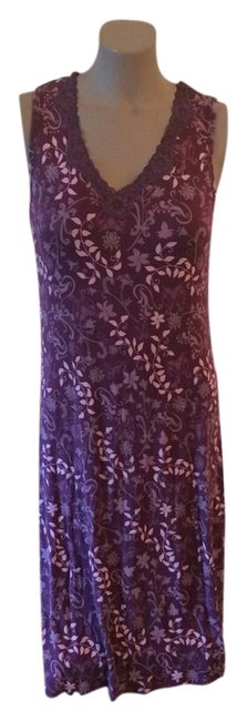 Item - Mid-length Short Casual Dress Size 6 (S)
