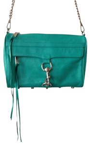 Rebecca Minkoff H Leather Handbag Designer Spring Summer Lighweight Clutch Cross Body Bag