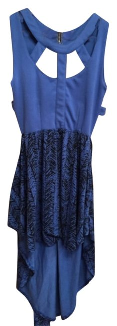 Preload https://img-static.tradesy.com/item/8328979/poof-apparel-blue-open-above-knee-night-out-dress-size-6-s-0-2-650-650.jpg