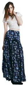 Free People Maxi Skirt Blue