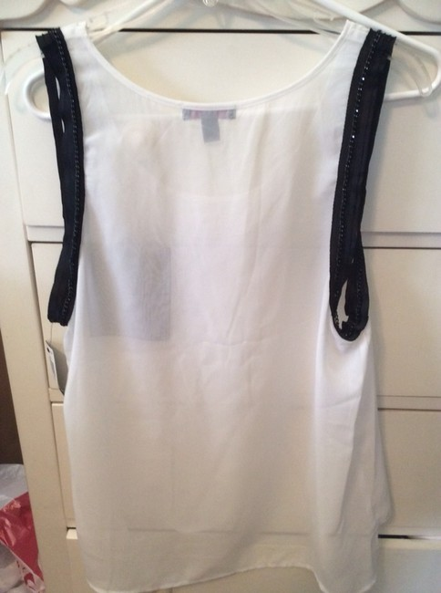 Material Girl (by Madonna) Top White and Black
