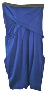 Hanii short dress Blue, Grey on Tradesy