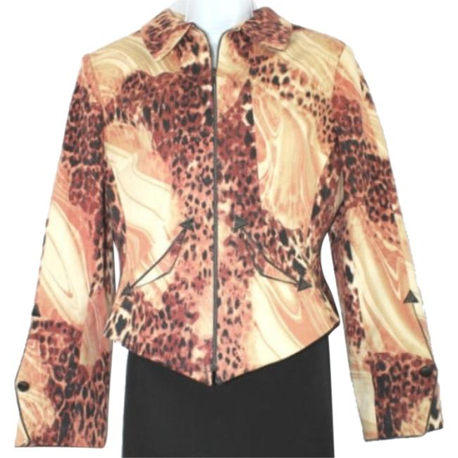 Preload https://img-static.tradesy.com/item/8330866/terry-paris-animal-print-jacket-us-f-46-made-in-france-blazer-size-14-l-0-3-650-650.jpg