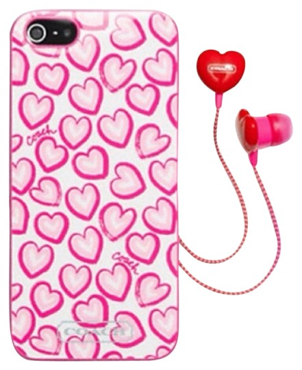 Coach Coach iPhone 5 Case And Earbuds
