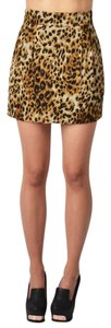 Naven Mini Animal Print Mini Skirt Leopard